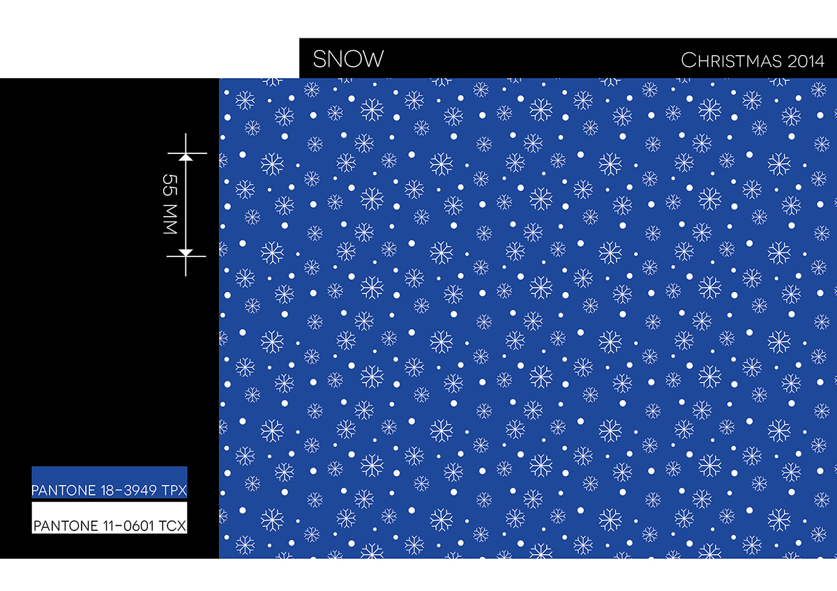 SNOW pattern by Paola Castillo