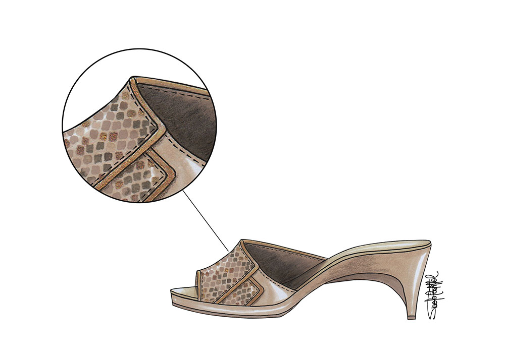 10 luxury-accessories - Sandal by Paola Castillo