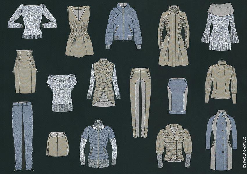 d2a7b2b2b7b Bases para diseñar una colección de moda: Guía completa con imágenes ...