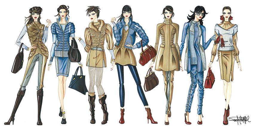 Bases para diseñar una colección de moda  Guía completa con imágenes ... 6f1781ae3a619