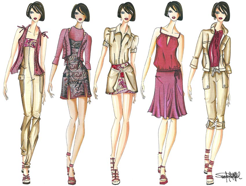 How To Make A Fashion Collection In Three Steps
