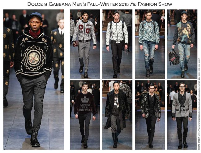 Dolce   Gabbana Mens Fall Winter 15-16 Fashion Show by Paola Cas - Fashion  and Illustration b8f6263e6a8