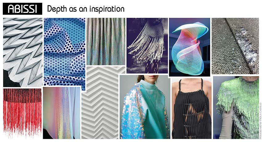 Textile Trends 2017 Moodboads With Fabrics And Accessories